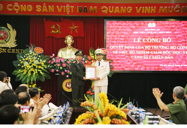 Senior Colonel, Prof. Dr. Tran Minh Huong is appointed to be new PPA's President